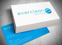 Pool Care Logo Design