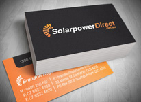 Solar Power Logo Design